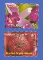POLYNESIE FRANCAISE 699 + 700 NEUFS ** FLORE - Polinesia Francese