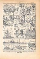 Peche. Stampa 1954 - Vieux Papiers