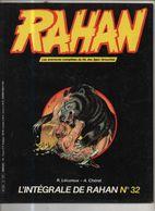 RAHAN INTEGRALE NOIRE N° 32 BE 09/1986 Cheret Lecureux (BI4) - Rahan