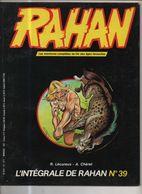 RAHAN INTEGRALE NOIRE N° 39 BE 04/1987 Cheret Lecureux (BI4) - Rahan