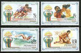 1992Penrhyn Island527-5301992 Olympic Games In Barcelona14,00 € - Summer 1992: Barcelona