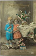 """Namenstag, Kinder,Kaffee, Kuchen"" 1918 ♥   (127) - Holidays & Celebrations"