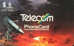 NOUVELLE-ZELANDE  -  Phonecard  - Telecom Corporation Of New Zealand Limited  - $ 5 - New Zealand