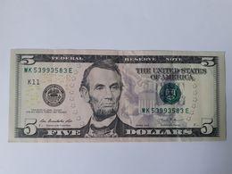 5 Dollars 2013 - Federal Reserve (1928-...)