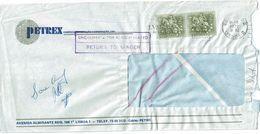 Lusiadas Mechanical Postmark 1972 , London , Undelivered , Return To Sender Postmarks , PETREX Cover - Postmark Collection