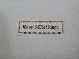 Ex-libris Typographique XVIIIème - BELGIQUE - CAVENS-MASSANGE - Bookplates