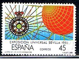 6ESPAGNE 918.1 // YVERT 2554 // EDIFIL 2940 // 1988 - 1981-90 Oblitérés