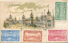N°1794 R -cpa Timbres Exposition Universelle Paris 1900 - Cinderellas