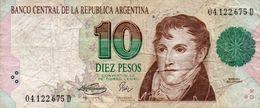ARGENTINA 10 PESOS 1994   P-342b1   CIRC - Argentinien