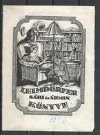 Hungary, Ex Libris  Leimdörfer Sári és Ármin. - Bookplates