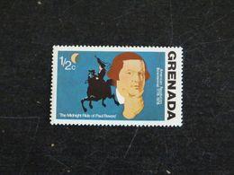 GRENADE GRENADA YT 591B ** - BICENTENAIRE INDEPENDANCE ETATS UNIS - PAUL REVERE - Grenada (1974-...)