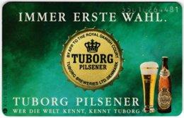 GERMANY K-Serie A-726 - 014 01.95 - Advertising, Beer, Tuborg - MINT - Deutschland