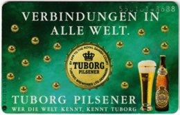 GERMANY K-Serie A-727 - 013 01.95 - Advertising, Beer, Tuborg - MINT - Deutschland