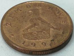 Moneda 1997. 1 Céntimo. Zimbabwe. KM 1a. MBC+ - Zimbabwe