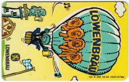 GERMANY K-Serie A-809 - 398 09.94 - Cartoon, Advertising, Drink, Beer - Used - Deutschland