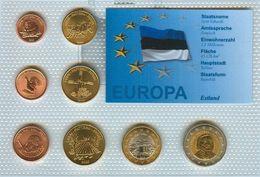 Kursmünzensatz Estland KMS Euro Probe Mit Zertifikat - Estland