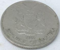 Moneda 1993. 50 Céntimos. Namibia. KM 3. MBC - Namibia