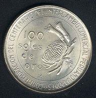 Peru, 100 Soles 1973, Silber, UNC - Pérou