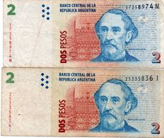 ARGENTINA 2 PESOS   CIRC - Argentinien