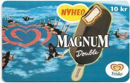 Denmark - Tele Danmark (chip) - Frisko Magnum - TDP288 - 06.2000, 1.300ex, 10kr, Used - Denmark
