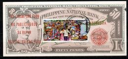 Philippines 1966 Mi Bl 8, Sc C93 - 50th Anniv. Of The Philippine National Bank. - Used - Filipinas