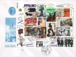 """2009 - SAN MARINO - FDC """" FUTURISMO """" FILAGRANO VEDI++++ - FDC"""