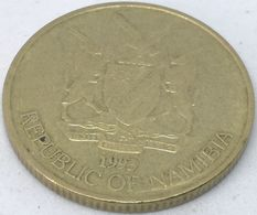 Moneda 1993. 5 Dólares. Namibia. KM 5. MBC - Namibië