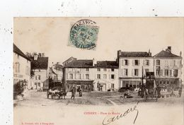 CUISERY PLACE DU MARCHE (CARTE PRECURSEUR ) ALAMBIC SUR LA PLACE - France