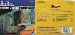MAX REGER Trios Pour Violon Viole Violoncelle, Opus 77 & 141. 1 Cd. Calig. 1991. - Classique