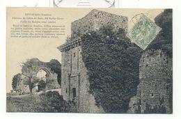 Vendée , Tiffauges , Chateau De Gilles De Retz Dit Barbe Bleue,porte Du Donjon - France