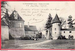 CPA 42 LA PACAUDIERE Château De La Salle - La Pacaudiere
