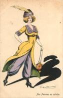 ILLUSTRATEUR G. MOUTON NOS FEMMES EN CULOTTE EDITION PARIS SERIE 138 - Andere Illustrators