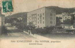 AJACCIO HOTEL SCHWEIZERHOF  OTTO HOMMAN PROPRIETAIRE - Ajaccio