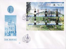 """2009 - SAN MARINO - FDC """" VINI DI SAN MARINO """" FILAGRANO VEDI++++ - FDC"""