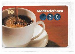 Denmark - Tele Danmark (chip) - Moedetelefonen - TDP196 - 01.1998, 2.100ex, 10kr, NSB - Denmark