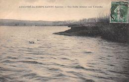 LONGPRE LES CORPS SAINTS - Une Hutte (chasse Aux Canards) - Autres Communes