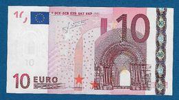 AUSTRIA - 2002 - BANCONOTA DA 10 EURO TRICHET SERIE N (F015C6) - NON CIRCOLATA (FDS-UNC) - IN OTTIME CONDIZIONI. - EURO