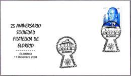 Matasellos 25 ANIV. SDAD FILATELICA DE ELORRIO - Sepulcros Medievales. Elorrio, Pais Vasco, 2004 - Geschichte