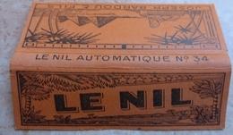 """Carnet De Papier à Cigarettes """" LE NIL   """" Automatique Combustible N°34 - Fabrique Par Joseph Bardou & Fils ( JOB ) - Etuis à Cigarettes Vides"""