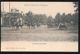 CAMP DE BRASSCHAET  BRASSCHAAT  LE DEPART POUR LE TIR - Brasschaat