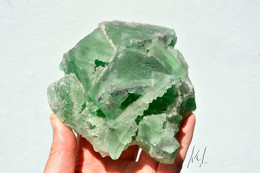 Fluorite Bicolore Chine: 290 Euros - 50 % - Minéraux