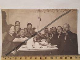 Photo Vintage. Original. Lampe De Chevet. Bière. Pipe à Fumer. Lettonie D'avant-guerre. - Objetos