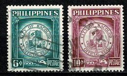 Philippines 1959 City Of Bacolod. - Official Seal -  Used - Filipinas