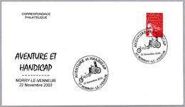 AVENTURA Y MINUSVALIA - ADVENTURE And HANDICAP. Norry-le-Venneur 2003 - Handisport