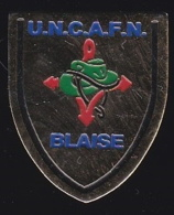 65786- Pin's-Unc-afn. Anciens Combattants.Blaise. - Militaria