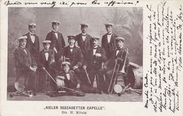 """CPA - Pays-Bas -  """"Kieler Seecadetten Capelle"""" Dir. H. König - 1903 - Militaria"""