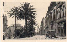 V48Pt    Espagne Las Palmas Calle Del Castillo Tacot - La Palma