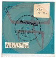 """Disque Plastisonor - Réf MIC 75 - 45 Tours - Plastique Souple Translucide - Série """"Place Au Jazz"""" - Formats Spéciaux"""