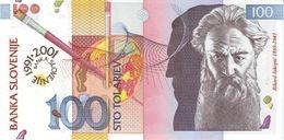 SLOVENIA P. 25 100 T 2001 UNC - Slovénie