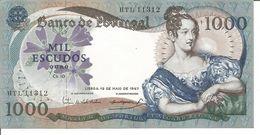PORTUGAL 1.000$00 ESCUDOS 19/05/1967 Ch.10 - Portugal